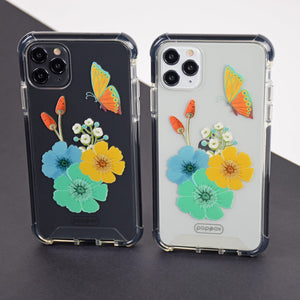 Bumper Edge iPhone 11 Pro Max - Butterfly and Flowers