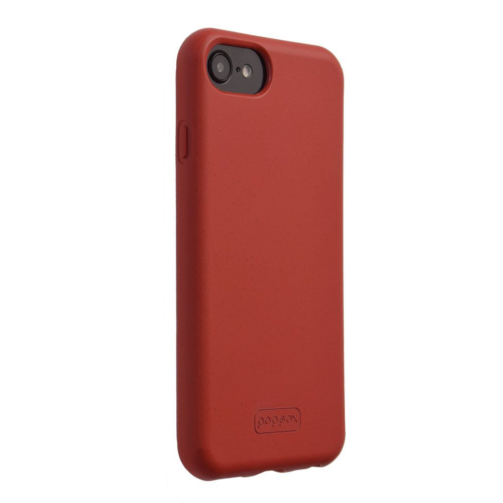 BioClassic Bioegradable iPhone SE phone case Medium Red lateral view