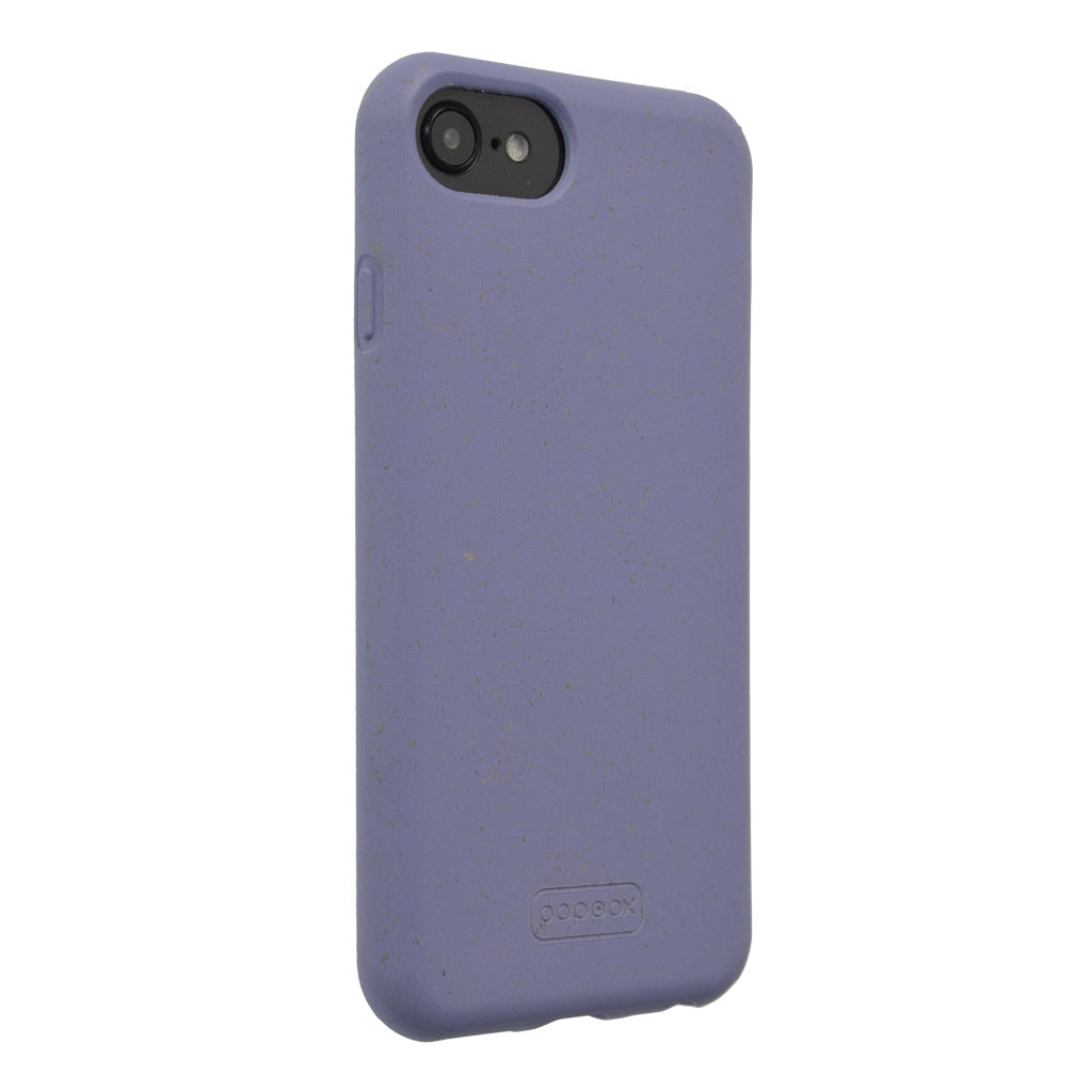 violet iphone SE biodegradable phone case lateral  view