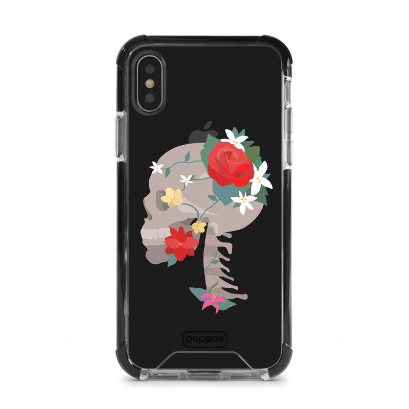 Bumper Edge iPhone X Skull
