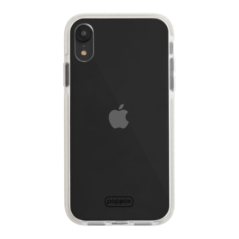 iphone xr shockproof phone case white colour frame