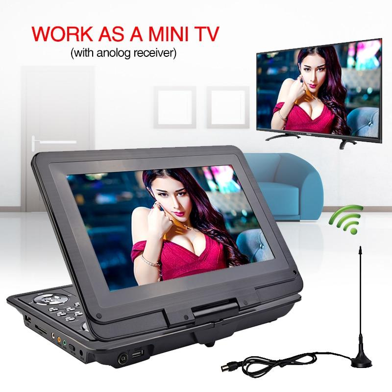 13 inch HD Portable DVD Player Mobile Digital Multimedia Player