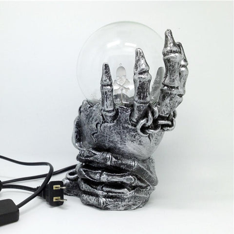 Image of Skull Ball Lamp