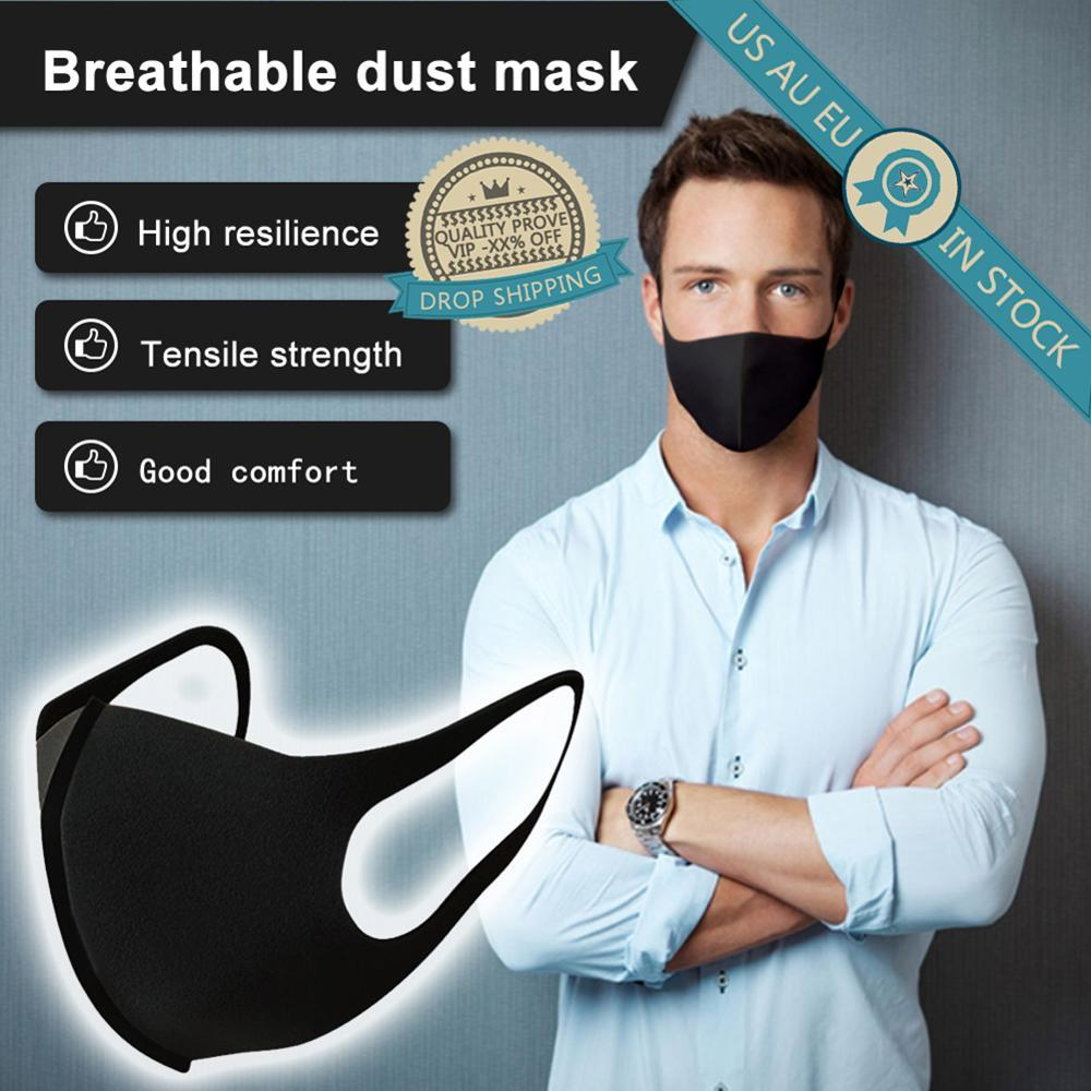 3 Piece Washable Anti Dust Face Respirator Mask For Adults