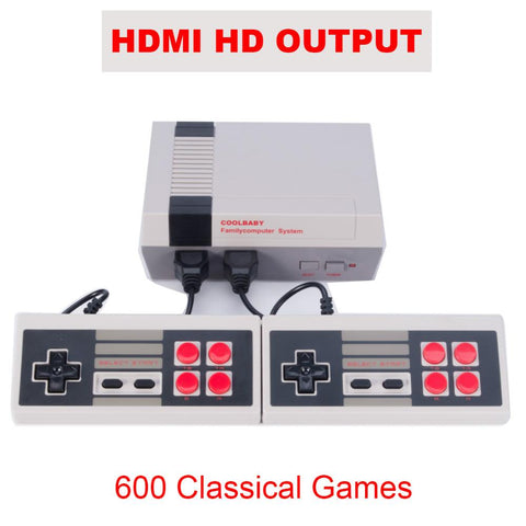 Image of Retro HD Video Game Console (600+ Games!)