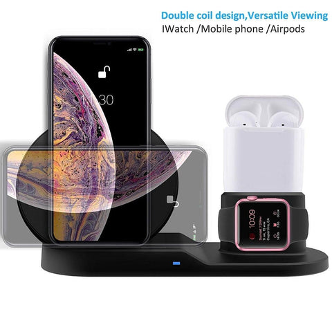 Image of Dock Station Wireless Charger for Iphone