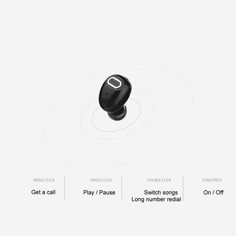 Image of 10 Hours Mini Bluetooth Head Piece