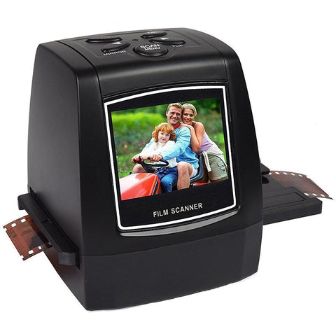 "Image of Portable 5MP 35mm Film Negative Scanner with 2.4"" LCD"