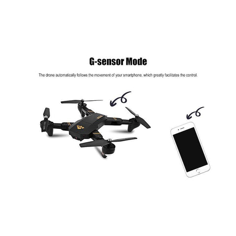 Image of Mini Foldable Selfie Drone with Wifi