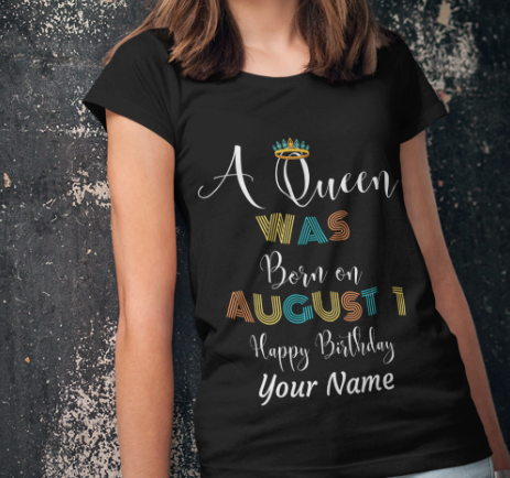 Image of A Queen was Born In August