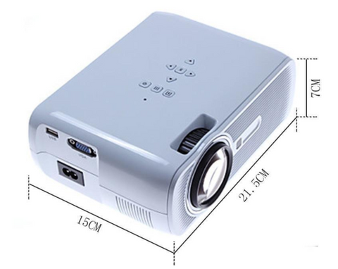 Image of Smart Portable Wifi Mini full HD 1080P 3D Projector