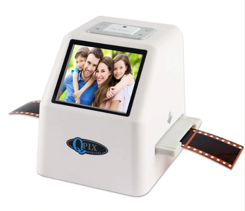 "High Resolution 22 MP Super 8 Negative Photo Scanner with 2.4"" LCD with 16GB SD Card"