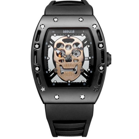 Image of Men's Military Skull Face Watch