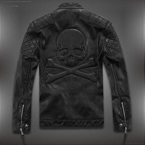 Skull Jacket - Skull Leather Jacket