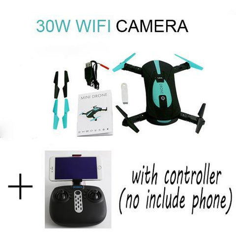 Image of Pocket Drone with HD Camera RC Quadcopter
