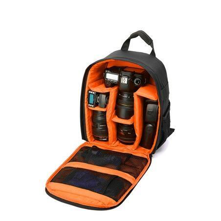 Image of Waterproof Multi-Functional Digital Camera Backpack