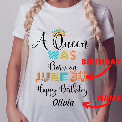 Image of A Queen was Born In June