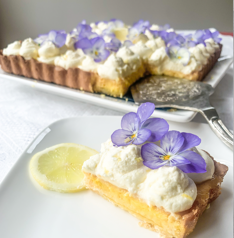 Secret Kiwi Kitchen's Lemon Marshmallow Fluff Tarte