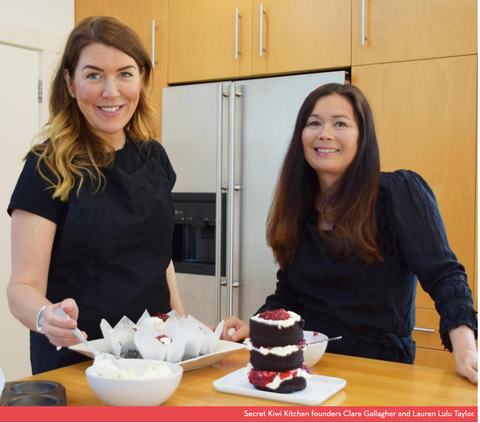 Secret Kiwi Kitchen Founders Clare Gallagher and Lauren Lulu Taylor Feature Channel Magazine