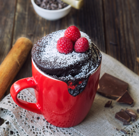 Secret Kiwi Kitchen Chocolate Microwavable Mug Cakes