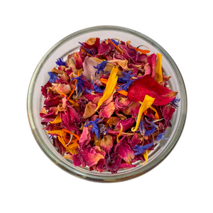Edible Dried Flowers - Mixed Botanicals