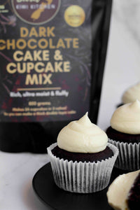 Dark Chocolate Cake & Cupcake Mix