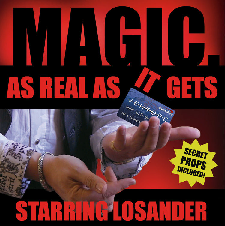 MAGIC: As Real As It Gets by Losander (PROPS INCLUDED)