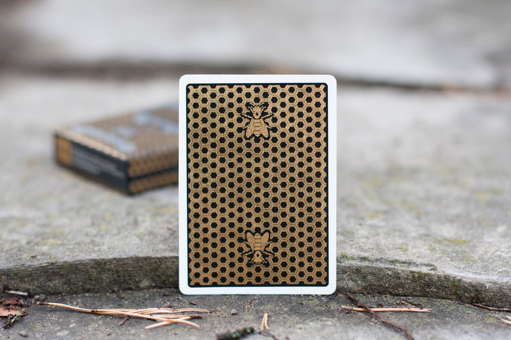 Honeybee Special Edition Metalluxe (Single Deck)