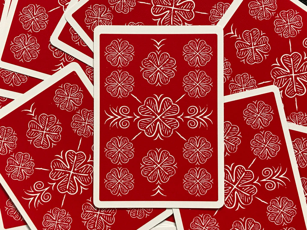 Choice Cloverback Playing Cards (Classic Red)