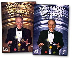 The Complete Cups & Balls by Michael Ammar DVD Vol 1 or 2