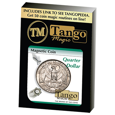 Magnetic Coin D0026(Quarter Dollar) by Tango