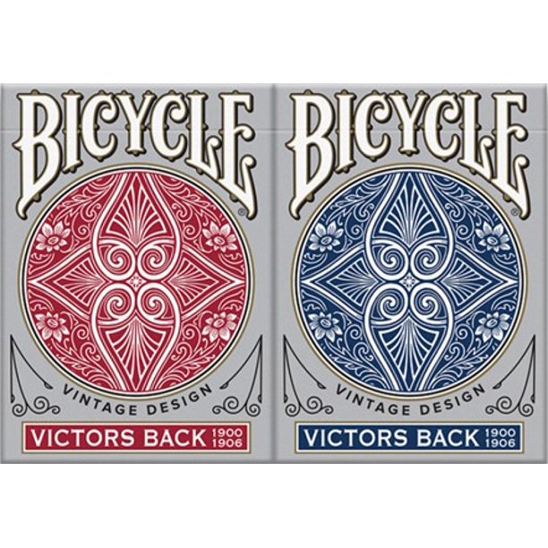 Bicycle Playing Cards Vintage Design Victors Back