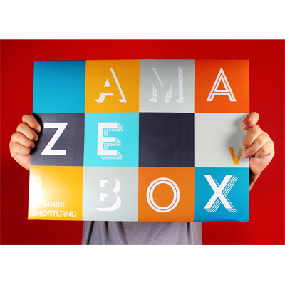 AmazeBox (Gimmicks and Online Instructions) by Mark Shortland and Vanishing Inc