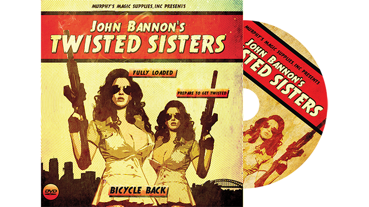 Twisted Sisters 2.0 (Gimmicks and Online Instructions) Bicycle Back by John Bannon