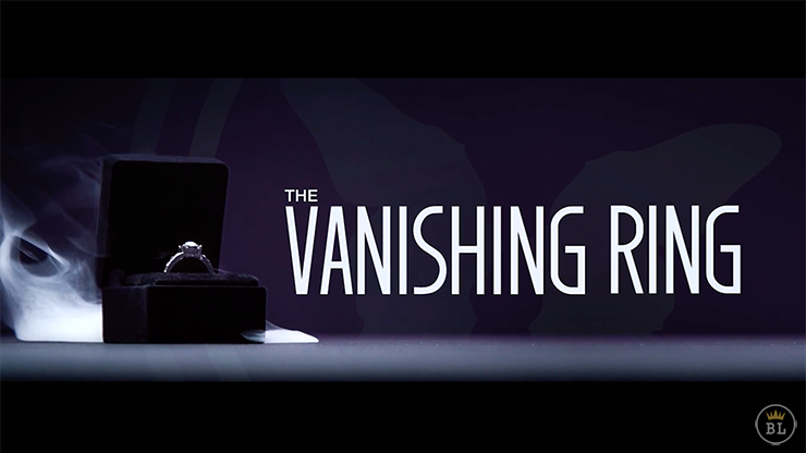 Vanishing Ring Black (Gimmick and Online Instructions) by SansMinds