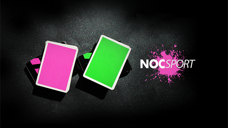 NOC Sport Playing Cards (Green or Pink)