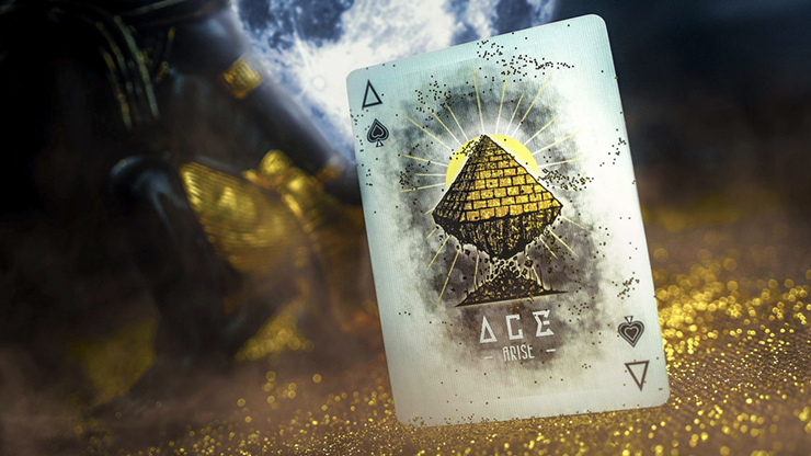 Ancient Egypt Playing Cards by Calvin Liew and Arise Art Studio