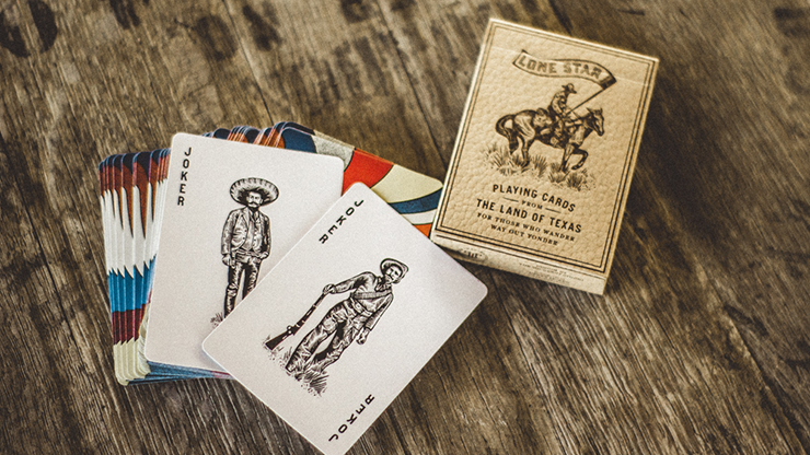 Deluxe Lone Star Playing Cards by Pure Imagination Project