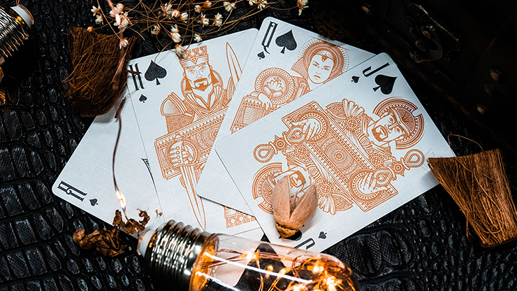 Invocation Copper Playing Cards by Kings Wild Project