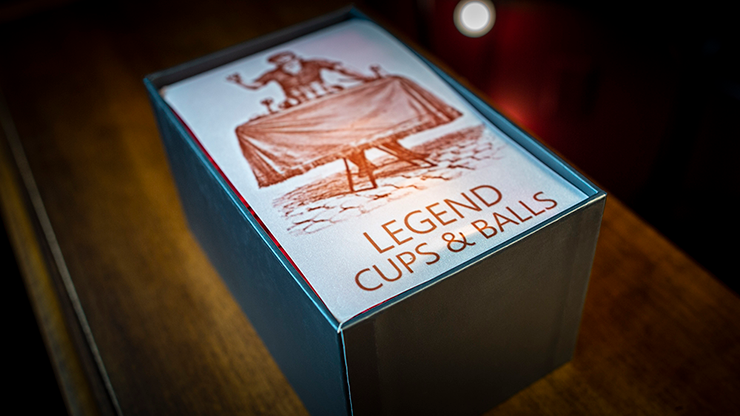 Legend Cups And Balls (Copper/Aged)