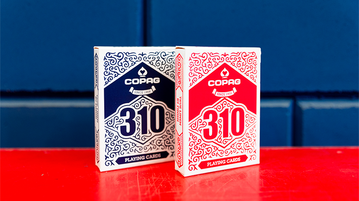 COPAG 310 SlimLine Playing Cards (Red or Blue)