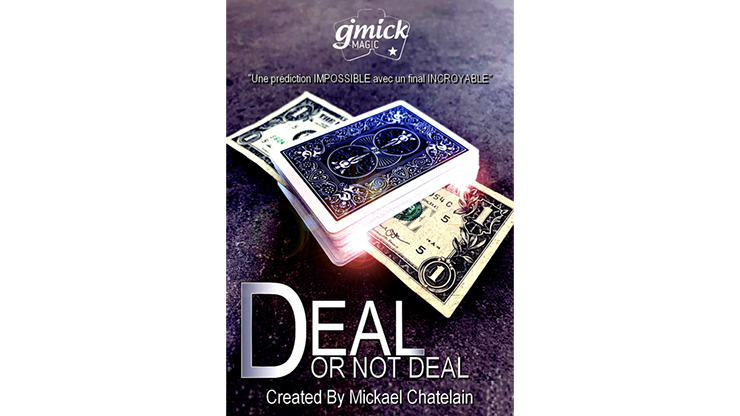Deal Or Not Deal Red (Gimmick And Online Instructions) By Mickael Chatelain