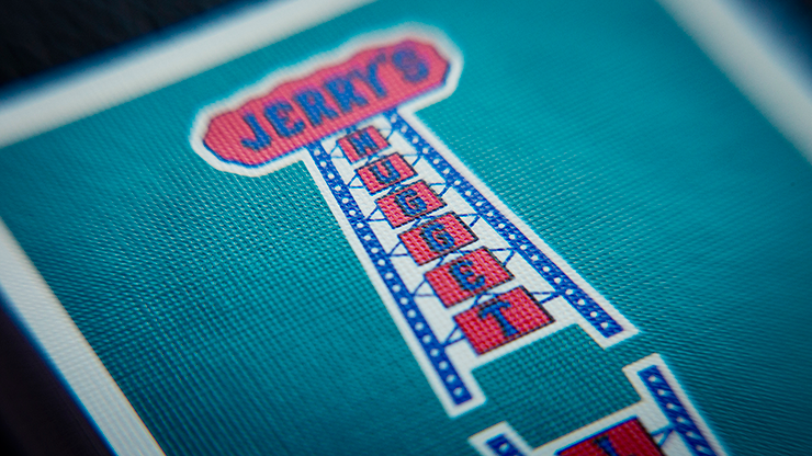 Modern Feel Jerry's Nuggets (Aqua) Playing Cards