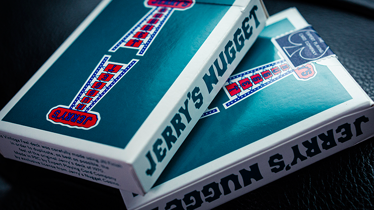 Vintage Feel Jerry's Nuggets (Aqua) Playing Cards