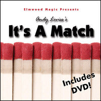 It's A Match 2.0 by Andy Leviss (DVD + Gimmicks)
