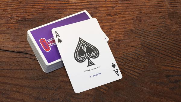Jerry's Nugget Playing Cards Royal Purple Edition