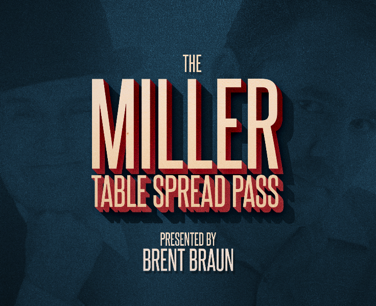 The Miller Table Spread Pass By Brent Braun Download