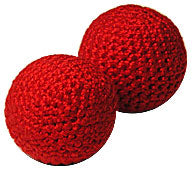 1 inch Crochet Balls (Red) by Uday