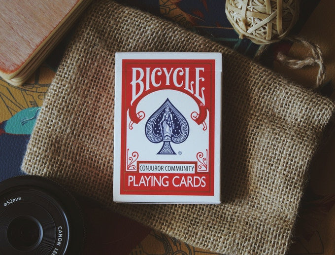 The Conjurer Community Club Playing Cards RED