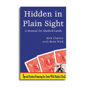 Hidden In Plain Sight - Manual For Marked Cards